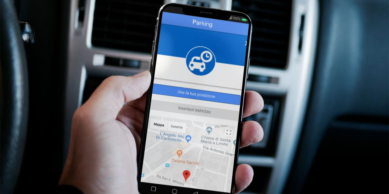 Mobility App: pagamento dei parcheggi
