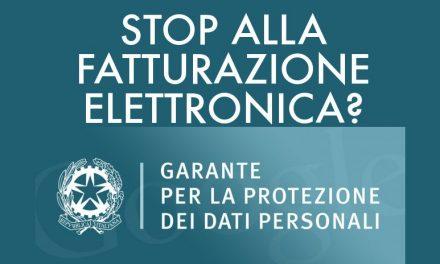 Garante per la Privacy: la normativa sulla fatturazione elettronica viola la privacy e andrà cambiata